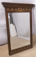 Regency Style Hanging Wall Mirror with matching Console Table